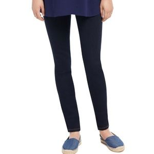 Indigo Blue Petite Skinny Leg Maternity Jeans PS